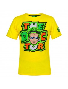 CAMISETA VR46 VALENTINO ROSSI COMIC THE DOCTOR